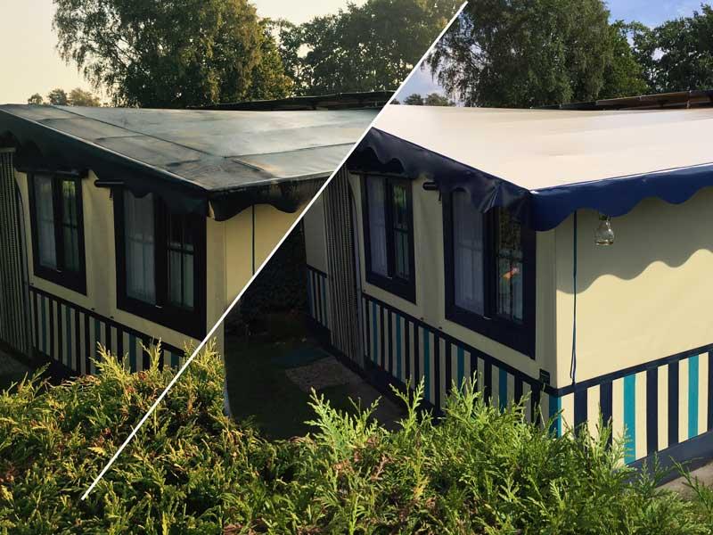 professionelle zeltdach sanierung reparatur camping. Black Bedroom Furniture Sets. Home Design Ideas
